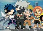 Сражение героев аниме
