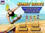 Джонни Браво: Скейтбординг на пляже