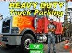 Вождение и парковка тяжелого грузовика