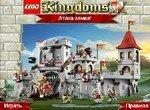 Атака замка в Лего королевстве