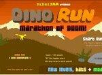 Динозавр в смертельном марафоне