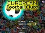 Футбольная викторина: Европейские клубы