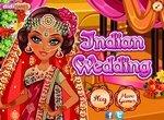 Индийская свадьба: Макияж и одевалка