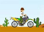 Мотогонка Бена по пустыне