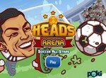 Футбол головами на арене