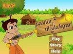 Чхота Бхим защищает деревню