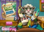 Кот Том лечится в больнице