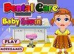 Малышка Севен у стоматолога