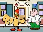 Гриффины драки: Питер против Петуха Эрни