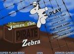 Зебры: Джеймс-пират