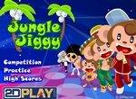 Танец обезьянки  в джунглях
