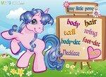 Украшай маленькую милую пони