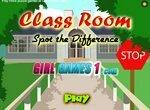 Найди отличия в классной комнате