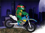 Мотогонки с черепашками-ниндзя