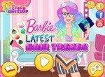 Трендовые прически для Барби