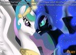 Битва Селестии и Лунной пони