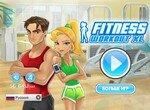 Новичок на фитнес тренинге