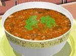 Кухня Сары: Готовим суп из чечевицы