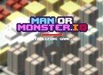 Manormonster. io: Борьба монстров и людей ио