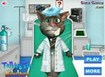 Кот Том в карете скорой помощи