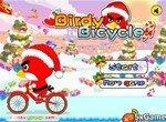 Angry Birds: Новогодняя велогонка