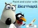 Раскрашиваем с Бернардом