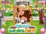 Вечеринка принцессы Моаны в саду