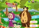 Маша и Медведь: Прогулка в дождливый день