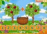 Учимся считать яблоки на деревьях