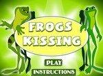 Супер поцелуи лягушек