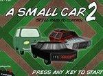 Маленькая машинка на опасной трассе 2