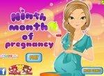Одевалка: Девятый месяц беременности
