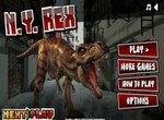 Динозавр Рекс уничтожает Нью-Йорк