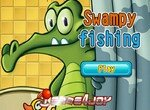 Крокодил Свомпи на рыбалке