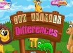 Найди отличия для детей: В зоопарке