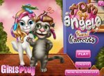 Новые прически Тома и Анжелы