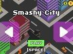 Монстр громит город