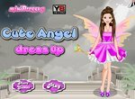 Одевалка девушки ангелочка