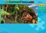 Хороший динозавр: Пазл с Арло и Дружком
