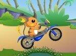 Приключения покемона на мотоцикле