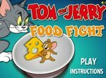 Битва Тома и Джерри за угощение