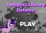 Твайлайт стоит на защите библиотеки