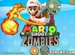 Денди Супер Марио против зомби