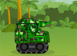 Один танк против армии противника
