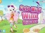 Одевалка мини принцессы Винкс