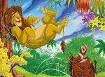 Пазл: Король Лев на отдыхе