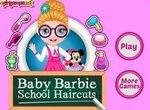 Малышка Барби: Прическа для школы