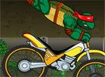 Гонки черепашек-ниндзя на велосипеде