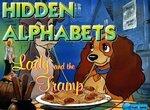 Леди и Бродяга: Найди скрытый алфавит