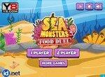 Морские монстры в битве за еду